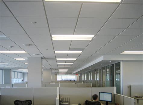 Modular Ceiling Design by Fluorescent Lighting In A Room Ls Ideas