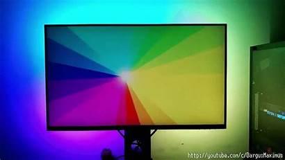 Ambient Lighting Monitor Diy Rgb Screen Behind