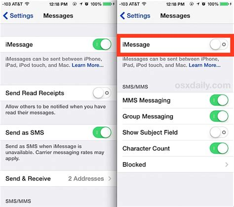 how to turn text messages on iphone iphone fix imessage waiting for activation error