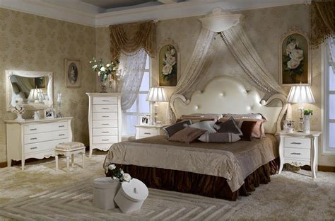 China French Style Bedroom Set Furniture (bjh-301)