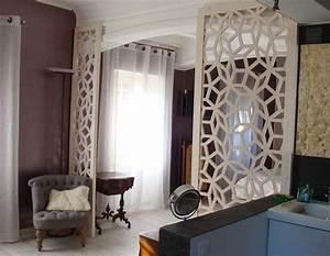 Separation Piece En Bois : claustra bois herm s ~ Teatrodelosmanantiales.com Idées de Décoration