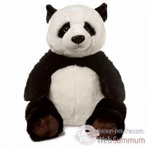 Peluche Géante Panda : wwf panda assis 55 cm 15 183 003 de wwf dans peluche g ante sur collection peluche ~ Teatrodelosmanantiales.com Idées de Décoration