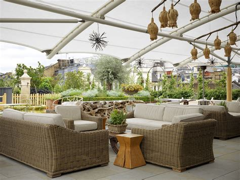 Roof Top Terrace : Best Rooftop Bars With Dazzling Views In London