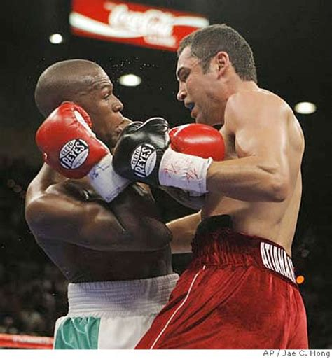 Win on split decision goes to Mayweather