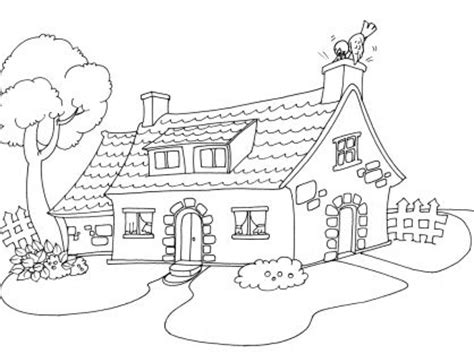 coloriage maison 30 tipos de vivienda