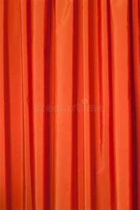 orange curtains royalty free stock images image 23666479