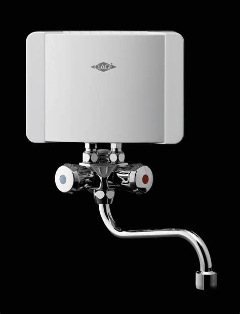 chauffe eau electrique instantane clage  smb avec robinet