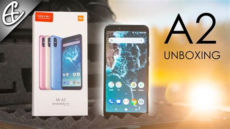 xiaomi mi a2 unit unboxing overview youtube