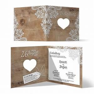 Hochzeitseinladungskarten Selbst Gestalten : lasergeschnittene hochzeit einladungskarten rustikal ~ Watch28wear.com Haus und Dekorationen