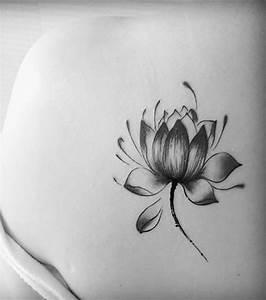 Fleur Lotus Tatouage : photo tatouage la fleur de lotus ~ Mglfilm.com Idées de Décoration