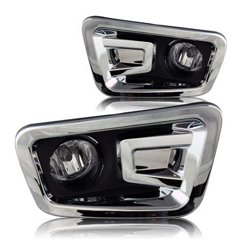 nissan titan fog lights clear wiring kit