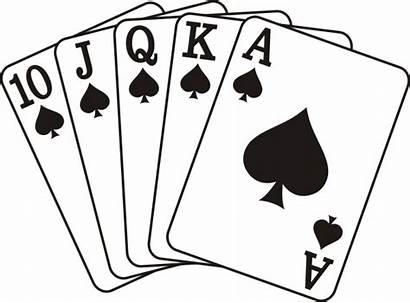 Flush Royal Spade Clip Poker Svg Spades