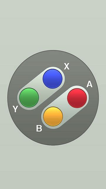snes controller iphone  wallpaper  matt gemmell