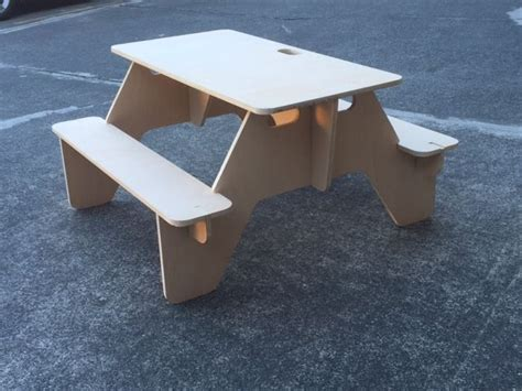 flat pack table make a flat pack picnic table that you can always bring with you
