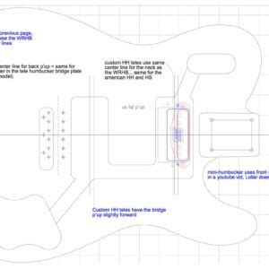 fender telecaster guitar templates electric herald