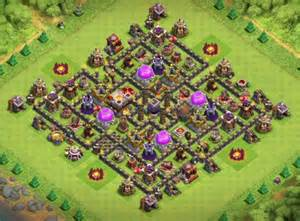 Clash of Clans Town Hall 9 Farming Base 2017
