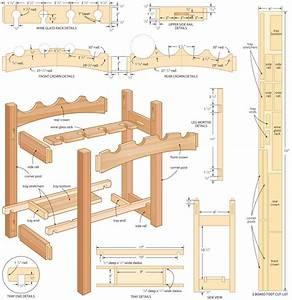 Free Wine Rack Plans Build a Wine Rack
