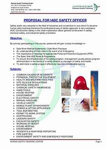 Iadc Certified Safety Officer Training  Detail