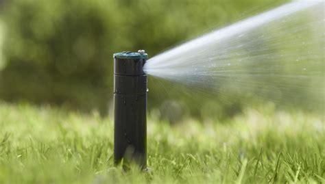 types of lawn sprinkler systems install an underground sprinkler system