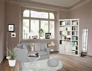 Wohnzimmer Grau Weiß Design : wohnzimmer in weiss braun wohnzimmer in weiss braun ziakia com design ideen ~ Sanjose-hotels-ca.com Haus und Dekorationen