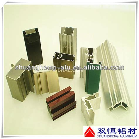 extruded aluminum track for sliding door with clear