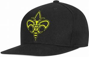 Adidas New Orleans Hornets Snapback Black Neon Yellow Cap