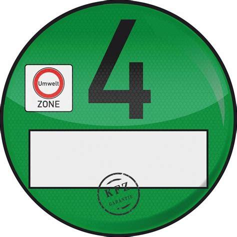 4 plakette kaufen 1x haftfolie plakette 4 umweltplakette