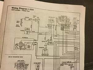 86 Mitsubishi L300 Alternator Wiring Help