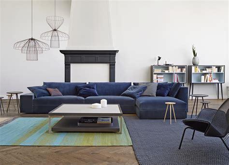 canape velour exclusif sofas designer didier gomez ligne roset