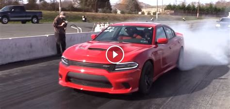 Fastest Charger Hellcat In The World Just Ran A Quarter
