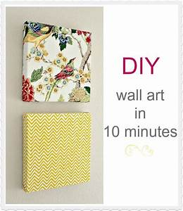 Wall decoration using cloth : Diy wall art in minutes using napkins great idea for