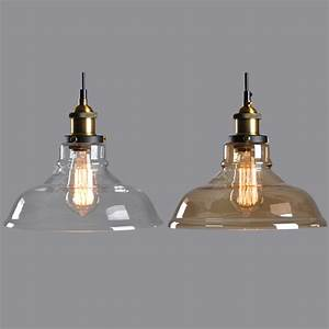 Popular clear glass pendant light shade buy cheap