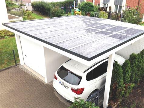 Carport Garage Kombination