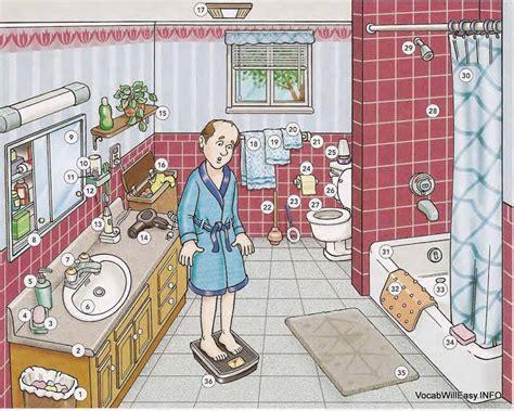bathroom  dictionary  kids
