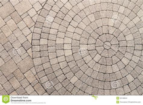 circular paving patterns circle design pattern in patio paving stock photo image 55148644
