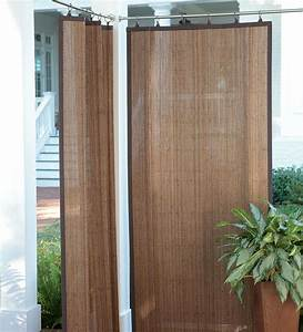 Create shade and privacy outdoors with these water for Bamboo curtains for balcony