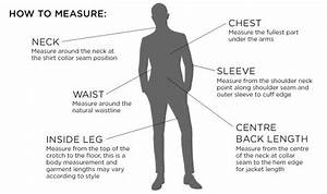Men Suits - Size Guides - How Can We Help