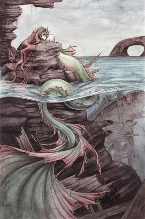 mermaid fantasy mermaids siren artwork deviantart drawing tail sirens creatures ancient mermen tails paintings mythology drawings mythical mythological sea mischief