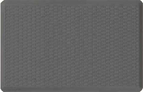 grey kitchen mat comfort chef anti fatigue gel mats for the kitchen