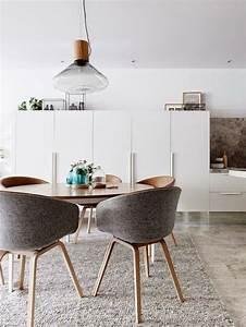 la salle a manger scandinave en 67 photos With salle À manger contemporaine avec suspension cuisine scandinave