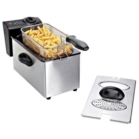 friteuse et cuisine friteuse inox 3 l domoclip friteuses électriques petit