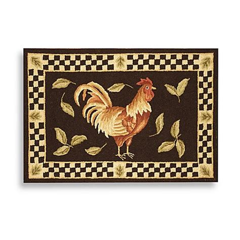 Safavieh Rooster Rug by Safavieh Vintage Rooster Poster 1 Foot 8 Inch X 2 Foot 6