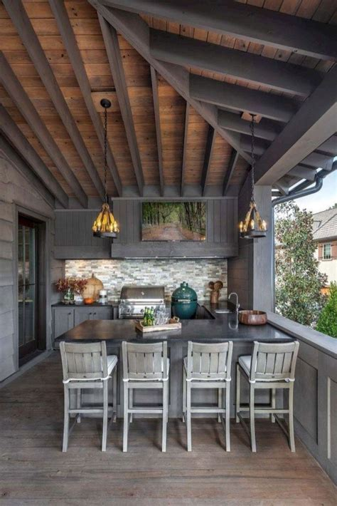 popular outdoor kitchen ideas  small spaces