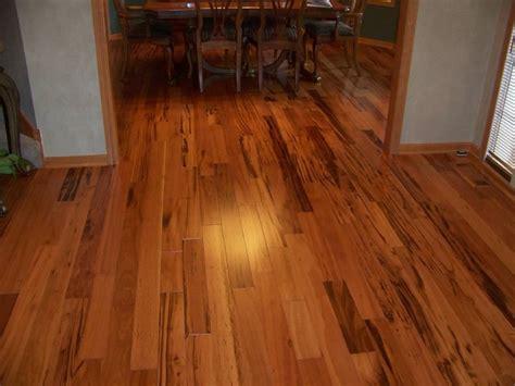 tigerwood floor tigerwood hardwood flooring family room minneapolis by b r hardwood tile inc