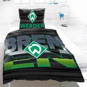 Werder Bremen Bettwäsche : heimtexprofis werder bremen baumwoll bettw sche 155x220 cm 2 von fussball bettw sche biber bild ~ A.2002-acura-tl-radio.info Haus und Dekorationen