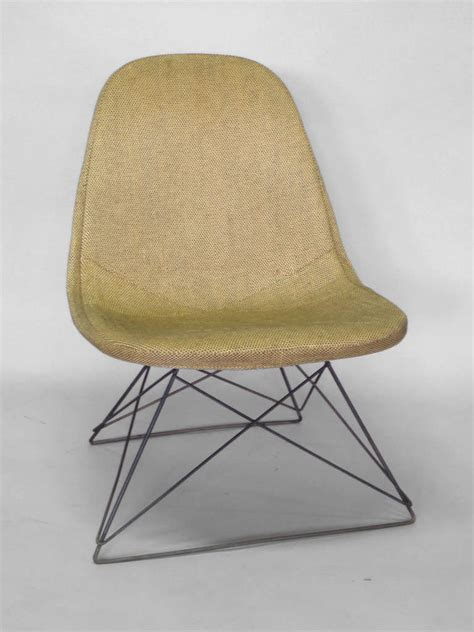 creek cradle lounger cing chair pair of eames cats cradle lounge chairs at 1stdibs