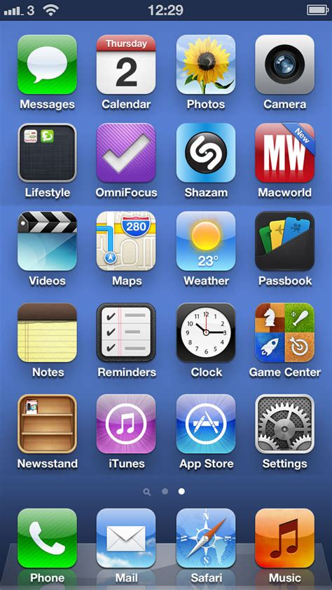 iphone display look at the iphone 5 home screen with 24 apps
