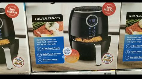 costco fryer air gourmia qt digital