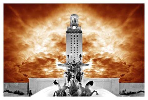 ut tower orange  jake bryer austin art garage