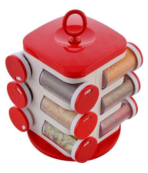 Spice Rack Sets by Floraware Revolving Spice Rack Pet Spice Container Set Of